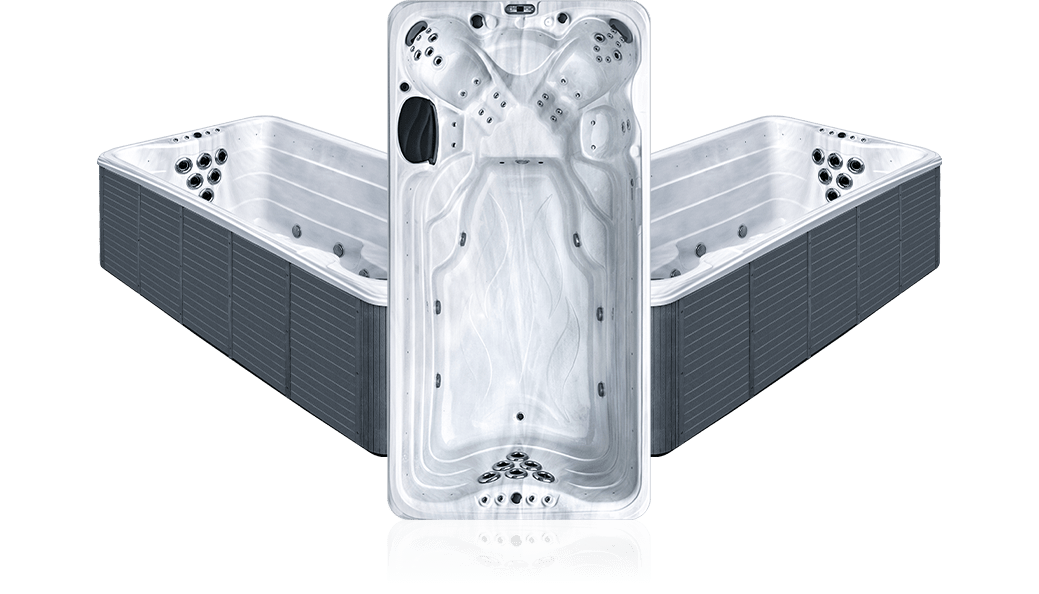 OSx barracuda - White Marble - Spa 6 places et plus