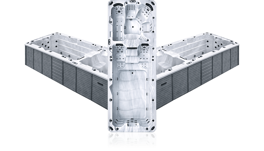 OSx beluga - White Marble - Spa 6 places et plus
