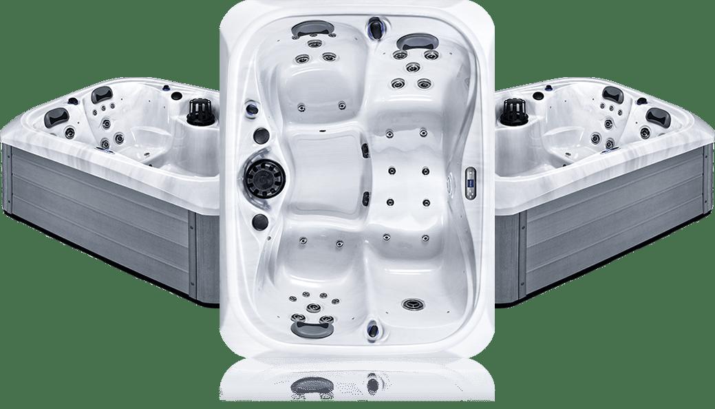 OS utaka - White Marble - Spa 3 places